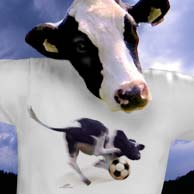 Shirt Jumping Cow
